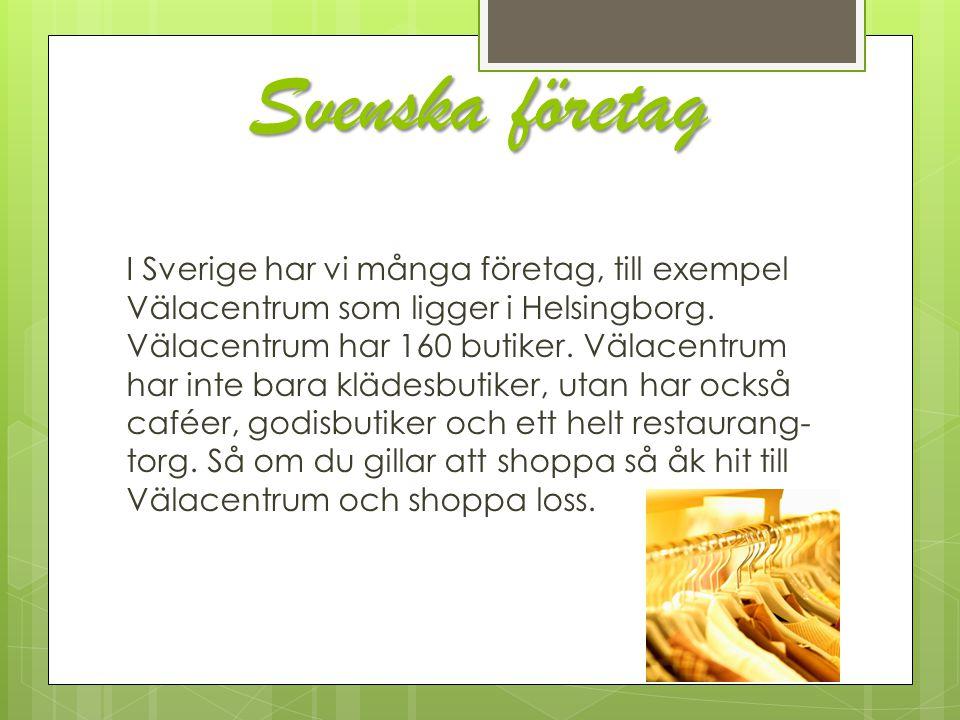 Svenska företag