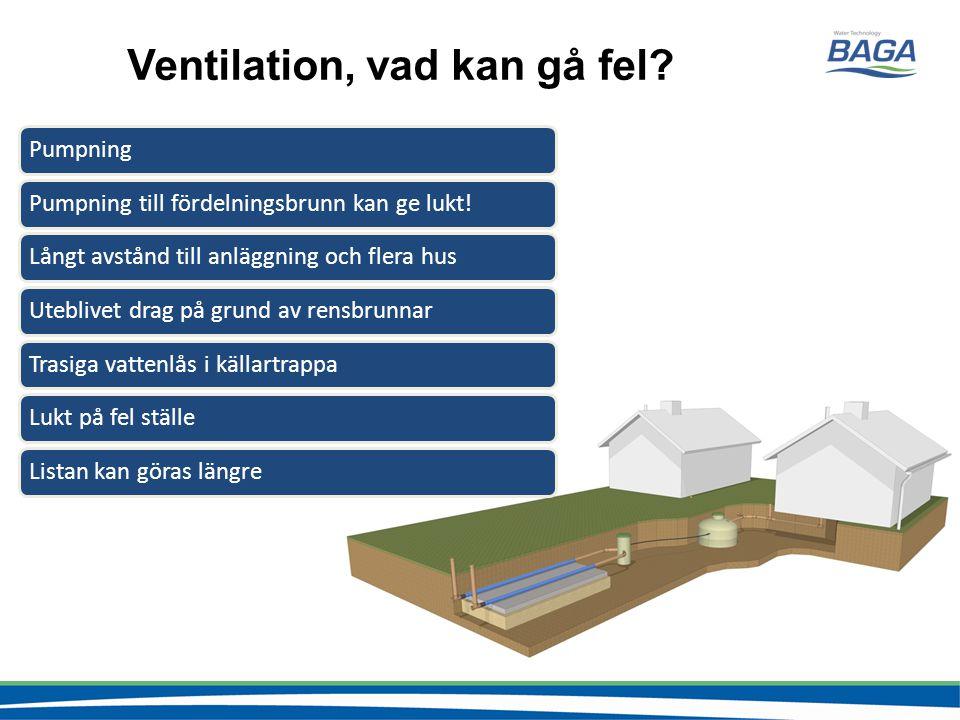 Ventilation, vad kan gå fel