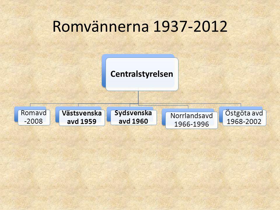 Romvännerna 1937-2012 Centralstyrelsen Romavd -2008