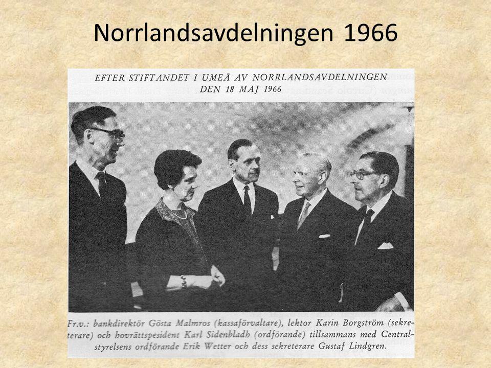 Norrlandsavdelningen 1966