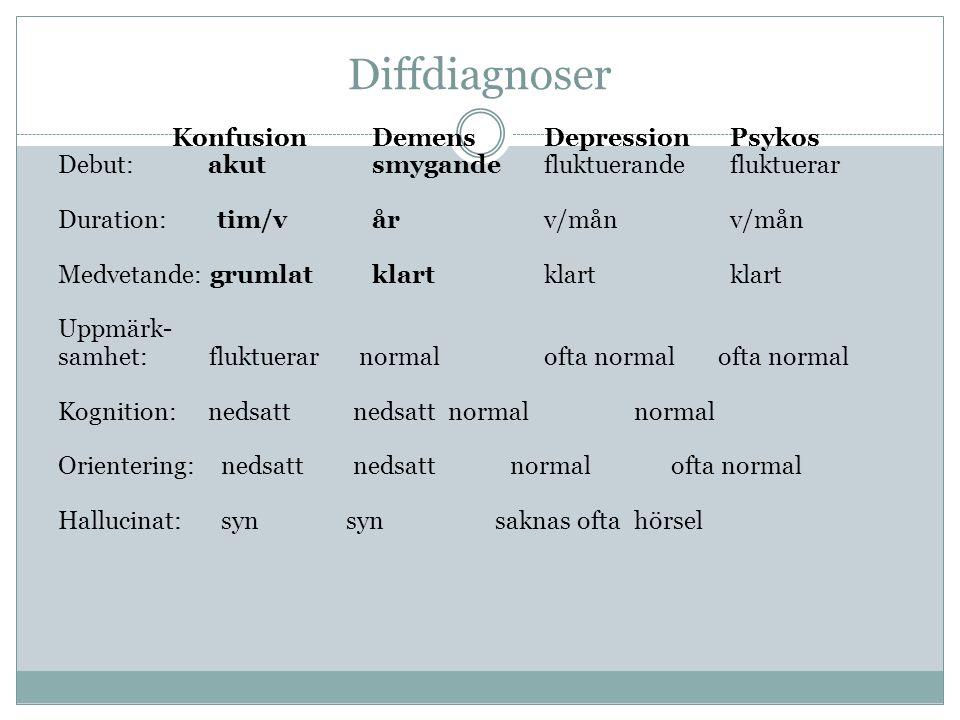 Diffdiagnoser