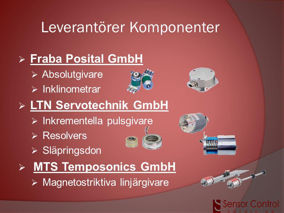 Leverantörer Komponenter
