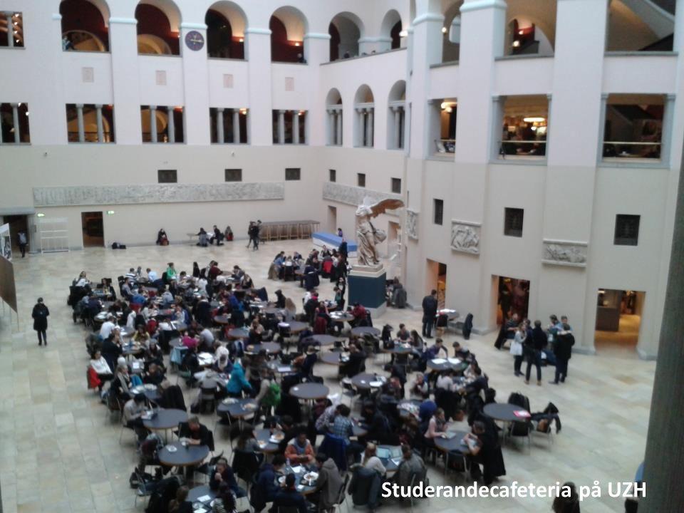 Studerandecafeteria på UZH