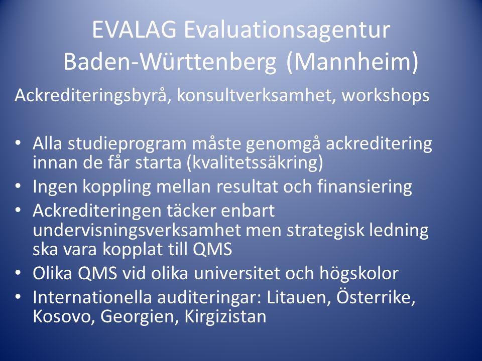 EVALAG Evaluationsagentur Baden-Württenberg (Mannheim)