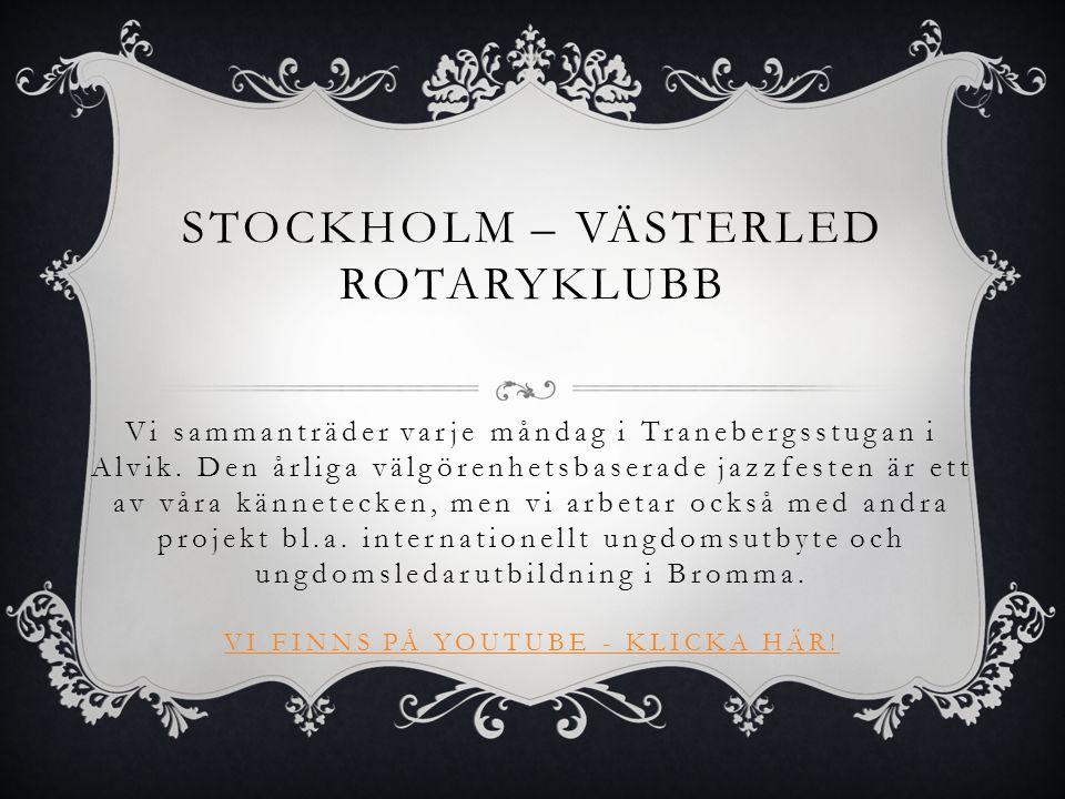 Stockholm – västerled rotaryklubb