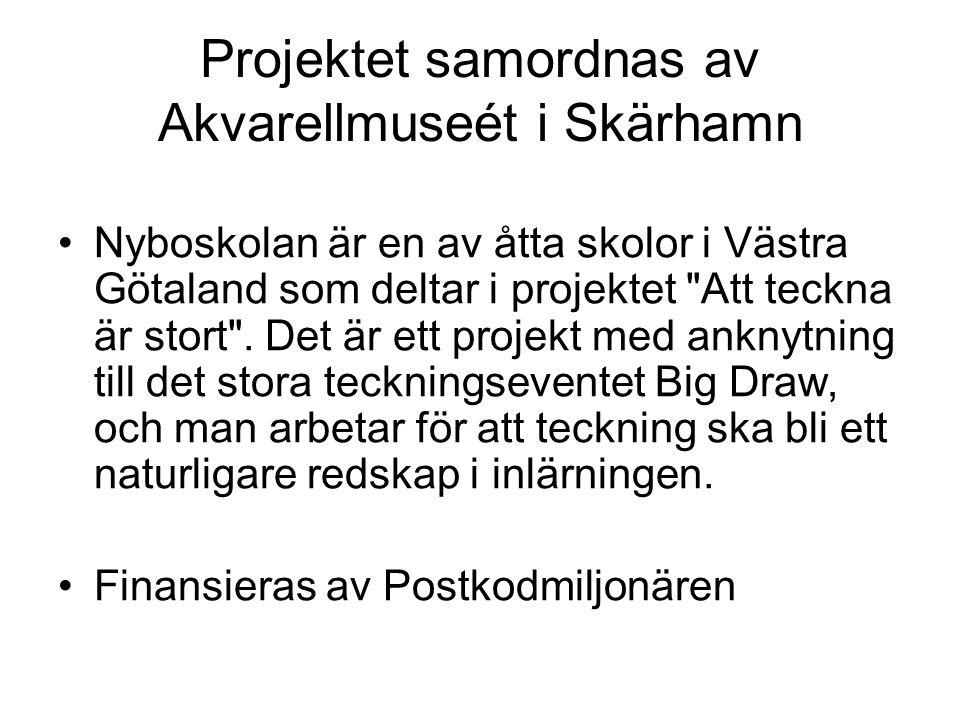 Projektet samordnas av Akvarellmuseét i Skärhamn