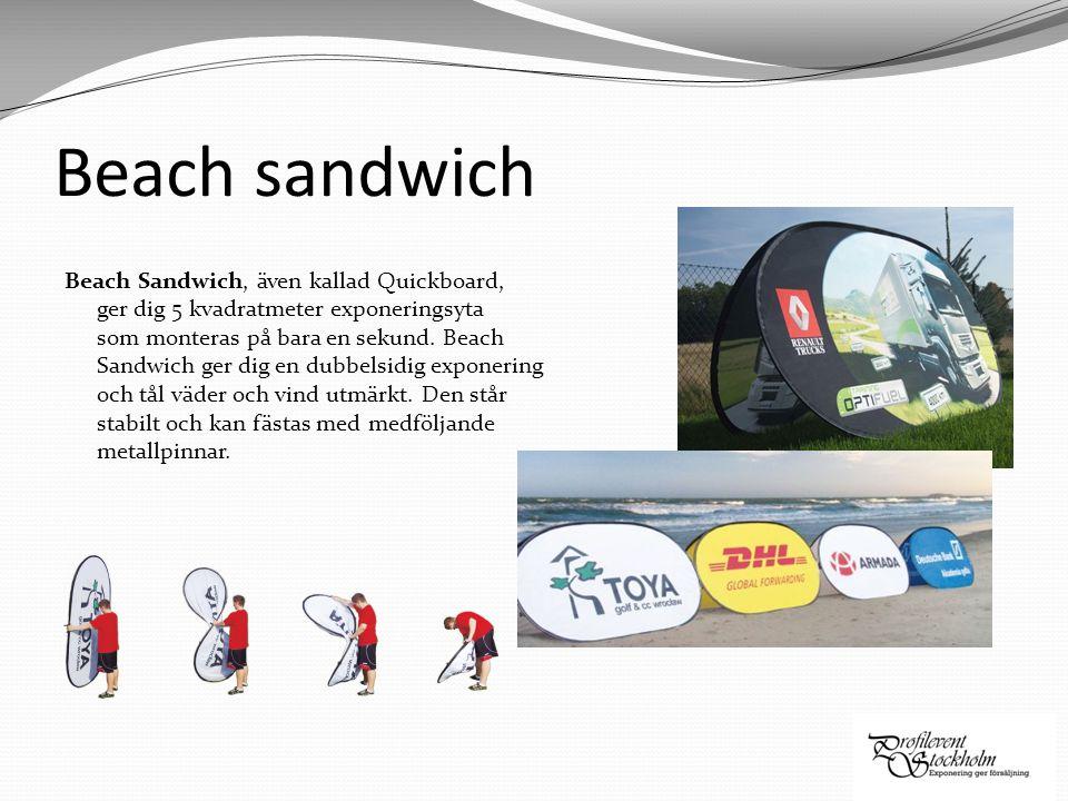 Beach sandwich