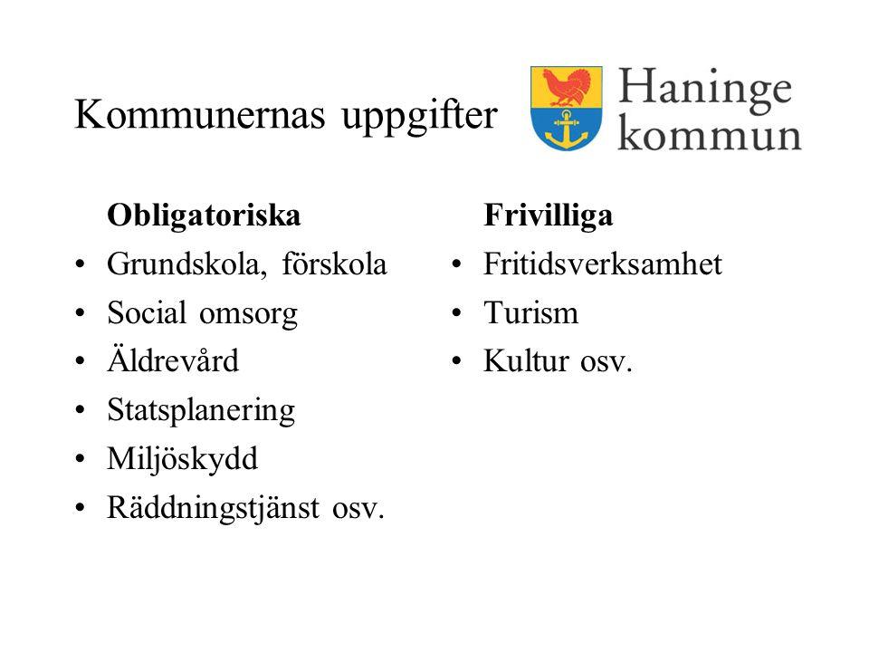 Kommunernas uppgifter