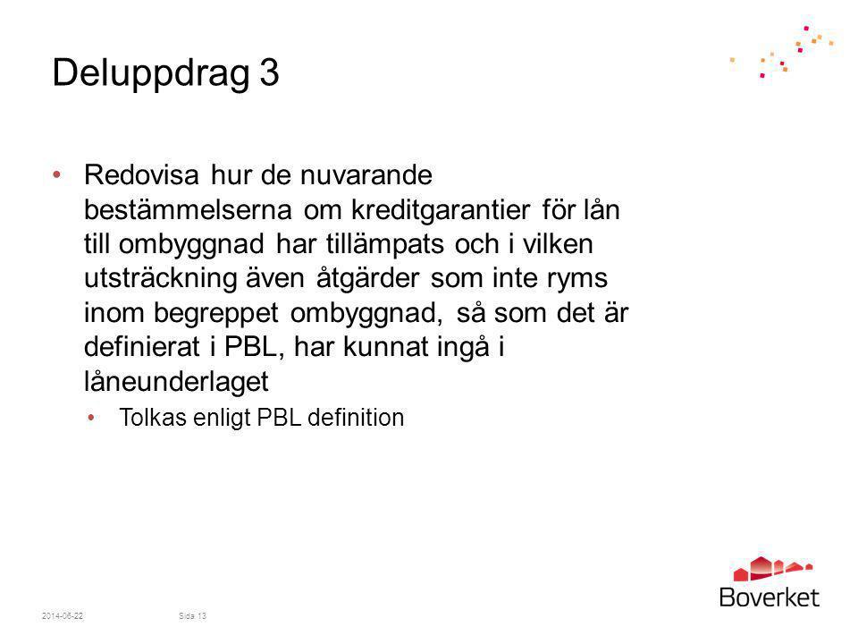 Deluppdrag 3