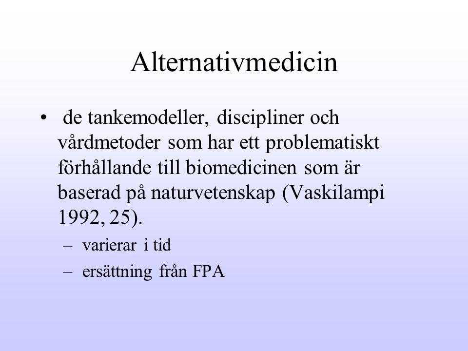 Alternativmedicin