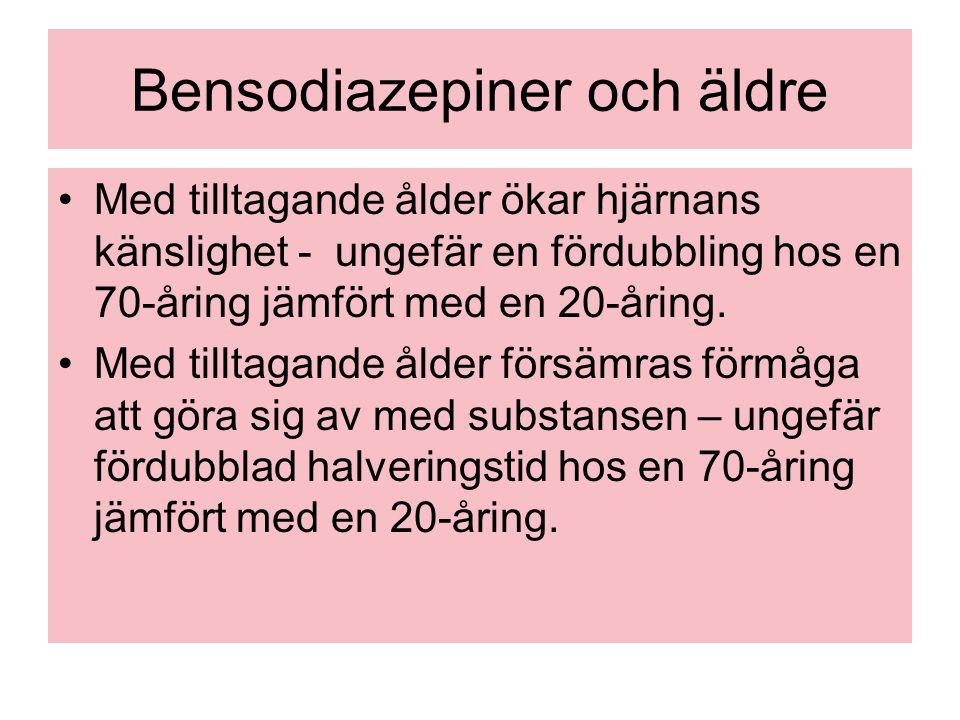 Bensodiazepiner och äldre