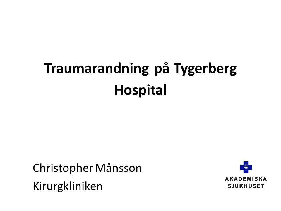 Traumarandning på Tygerberg Hospital