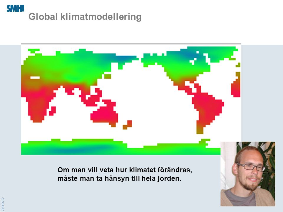 Global klimatmodellering