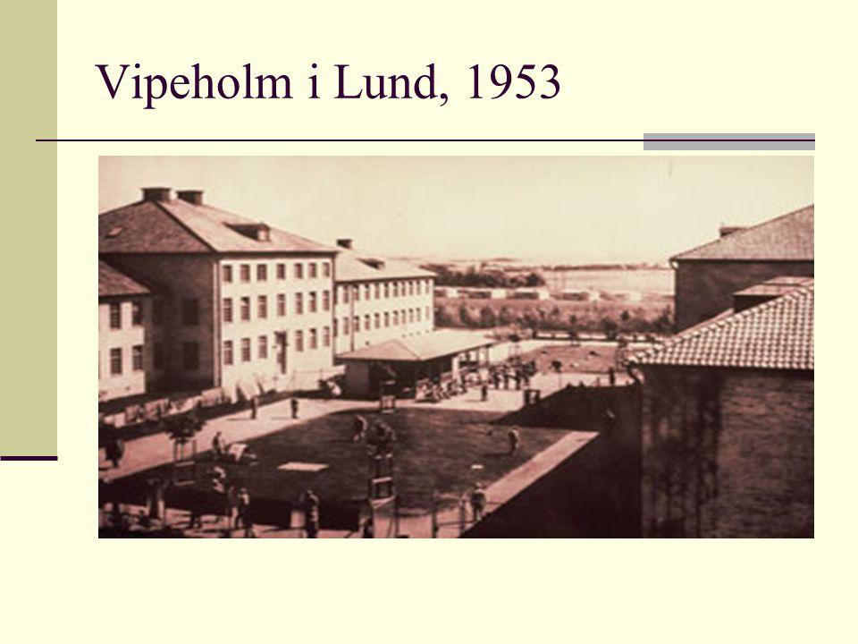 Vipeholm i Lund, 1953