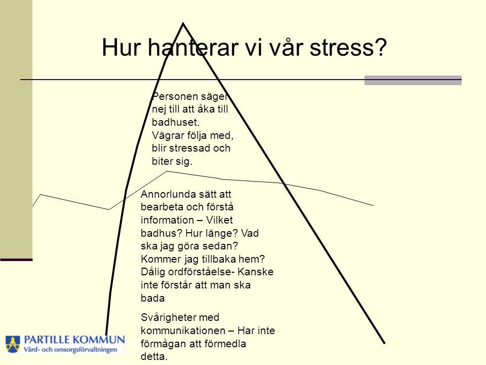 Hur hanterar vi vår stress