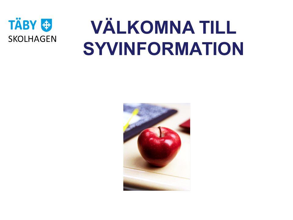 VÄLKOMNA TILL SYVINFORMATION