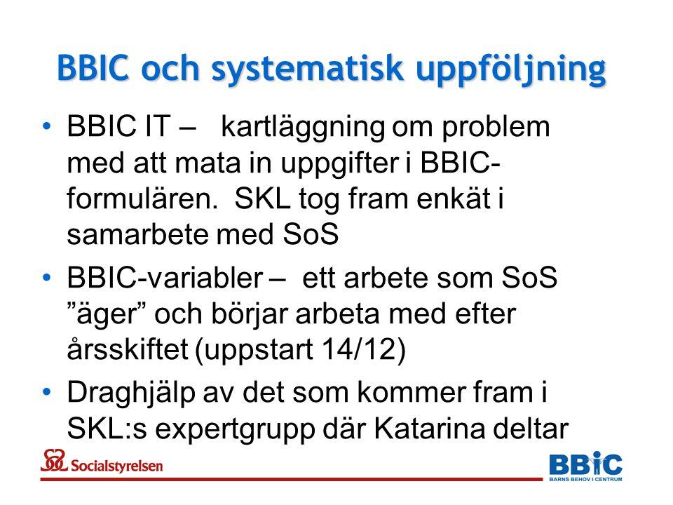 BBIC och systematisk uppföljning