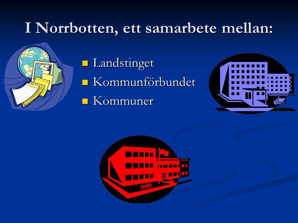 I Norrbotten, ett samarbete mellan:
