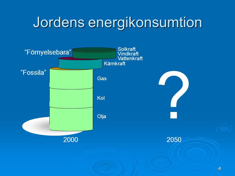 Jordens energikonsumtion