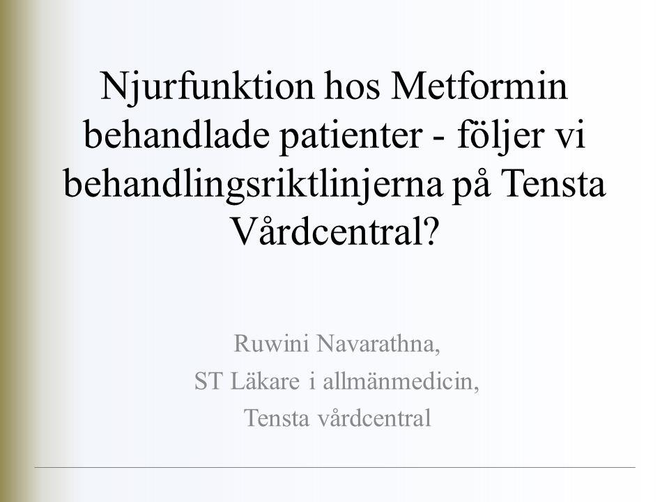 Ruwini Navarathna, ST Läkare i allmänmedicin, Tensta vårdcentral