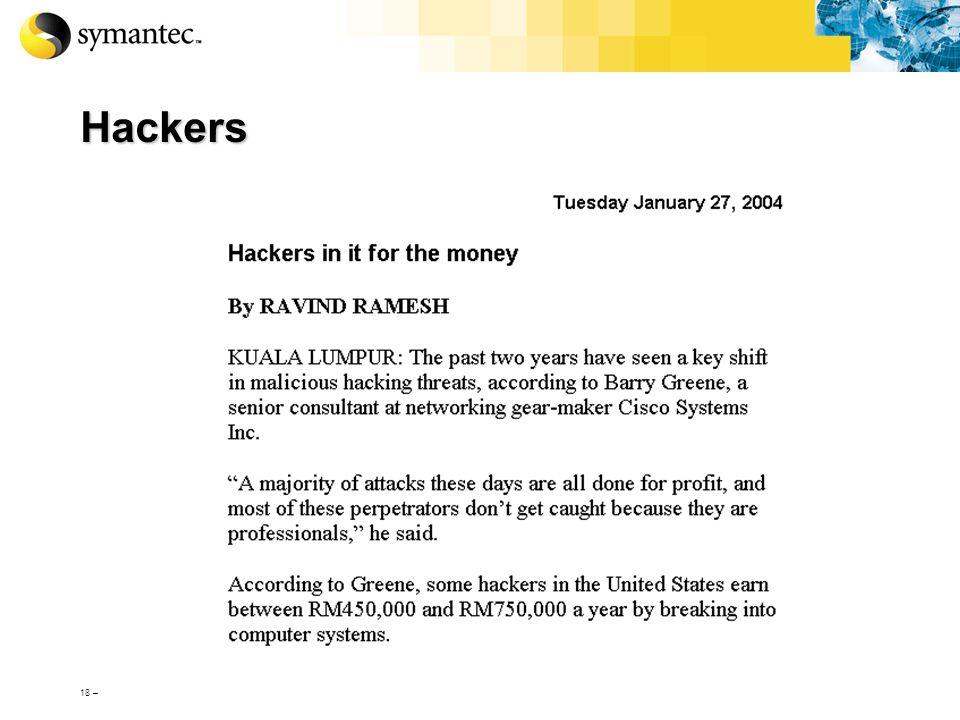 Hackers 18 –