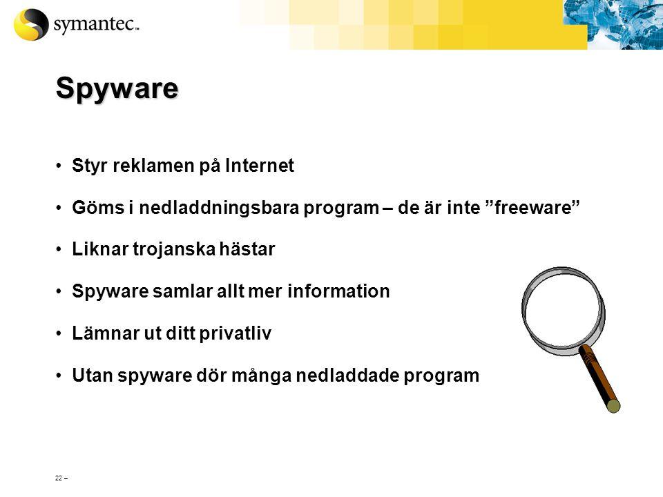 Spyware Styr reklamen på Internet