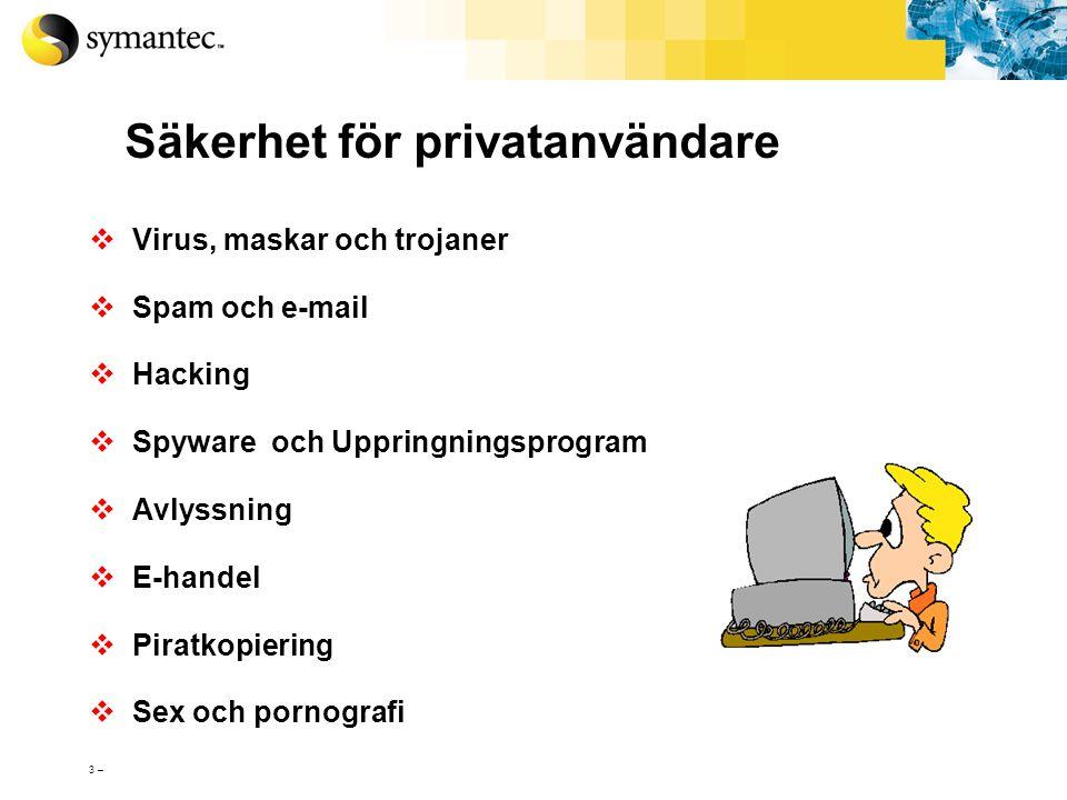 Säkerhet för privatanvändare