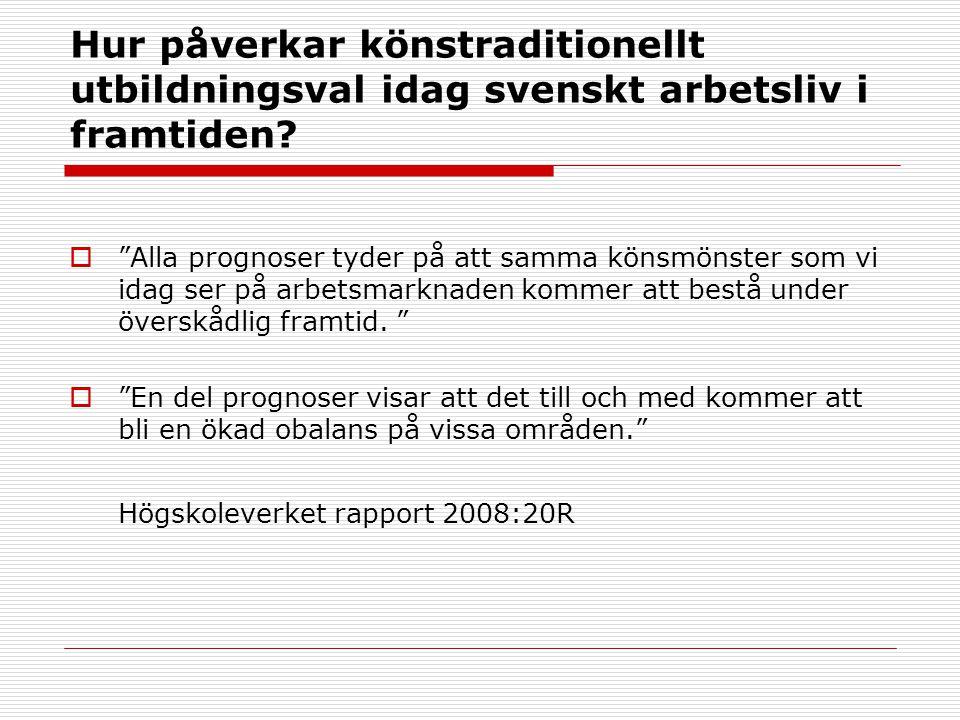 2017-04-03 Hur påverkar könstraditionellt utbildningsval idag svenskt arbetsliv i framtiden