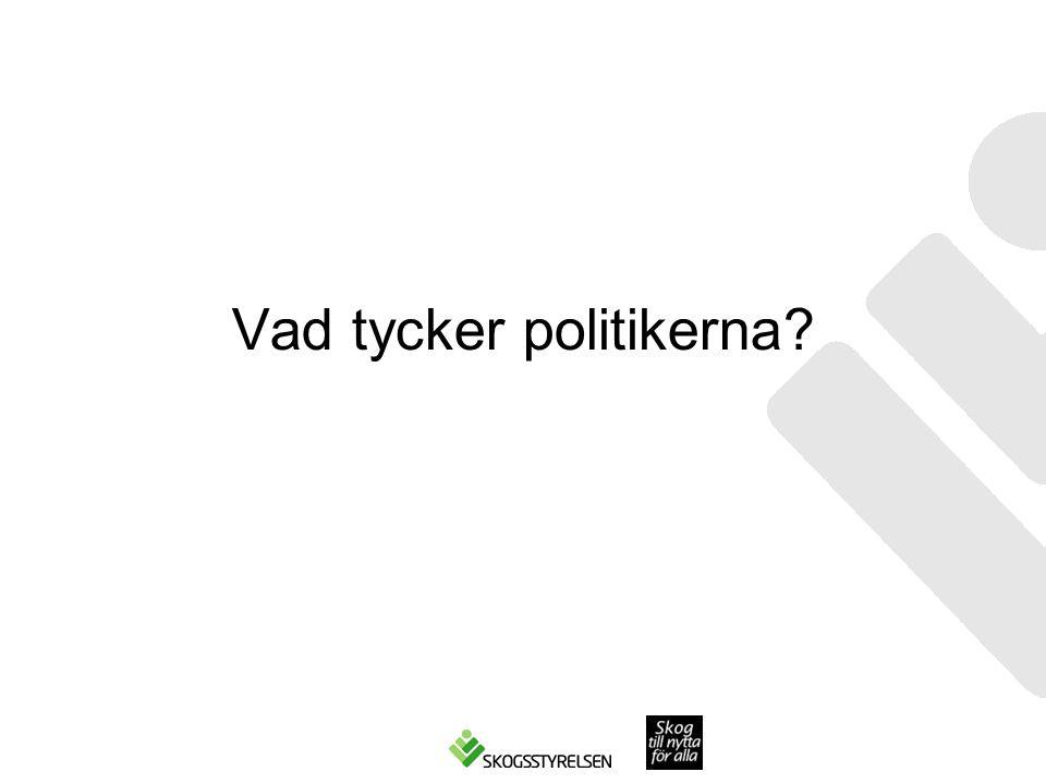 Vad tycker politikerna