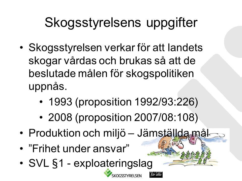 Skogsstyrelsens uppgifter