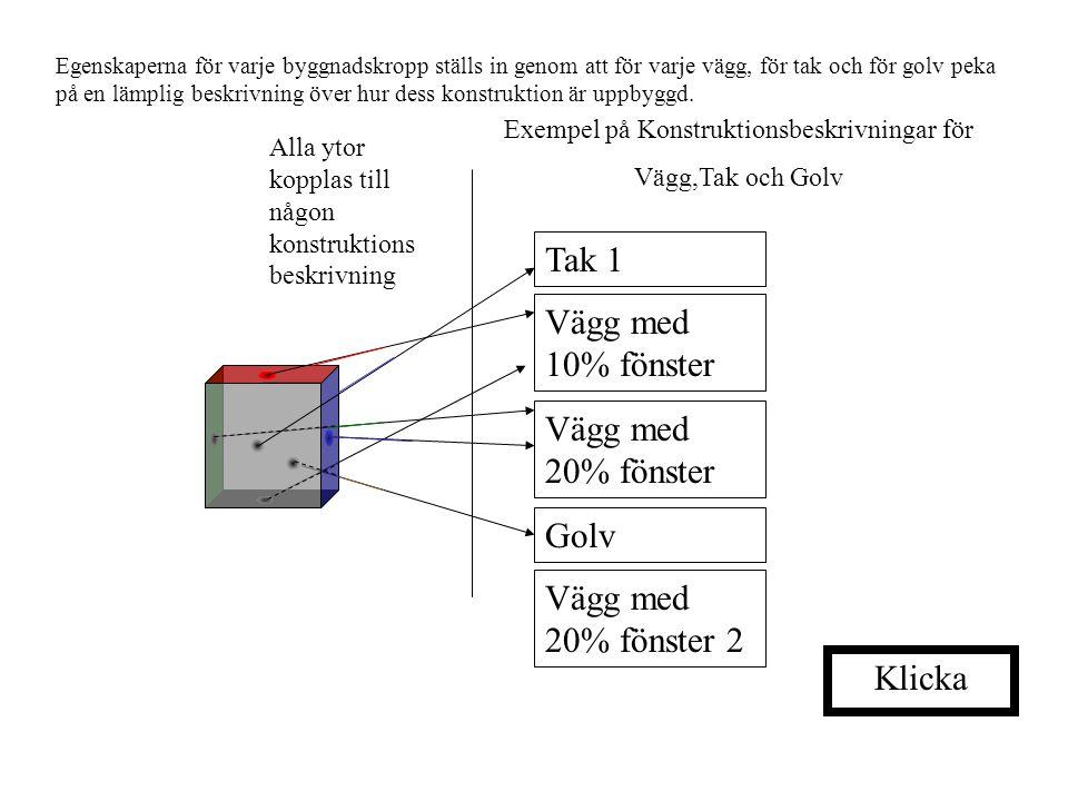 Exempel på Konstruktionsbeskrivningar för