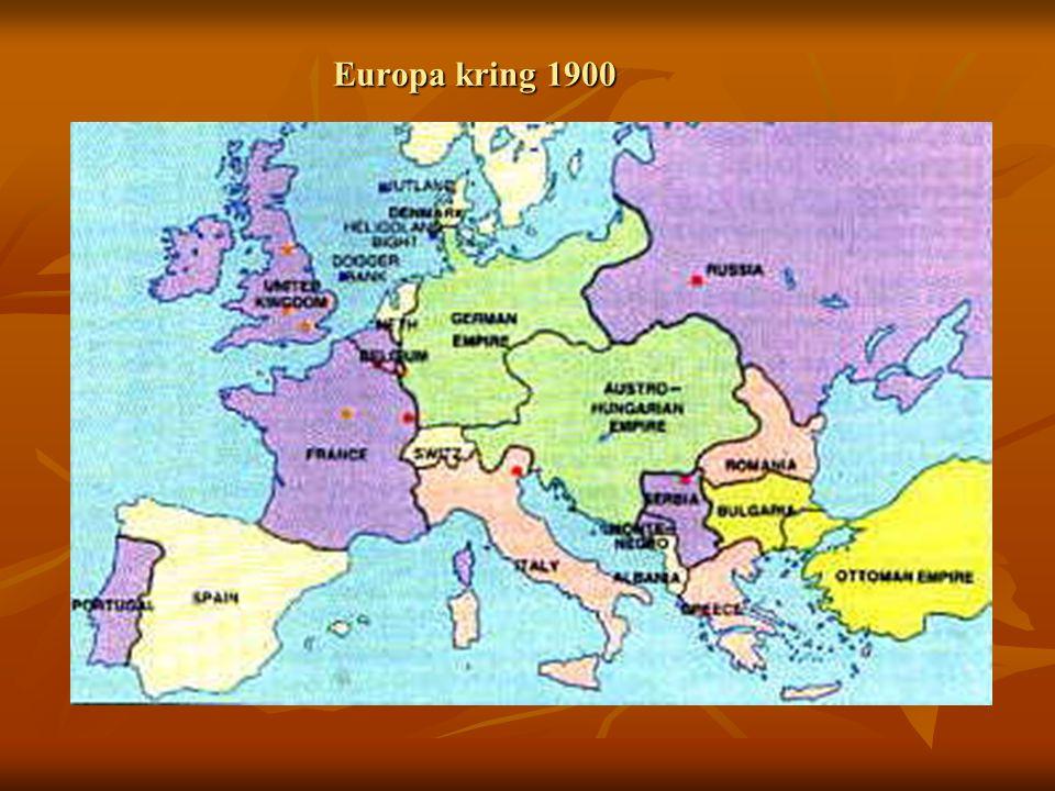 Europa kring 1900