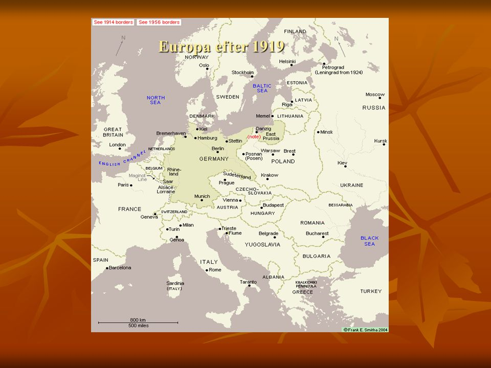 Europa efter 1919