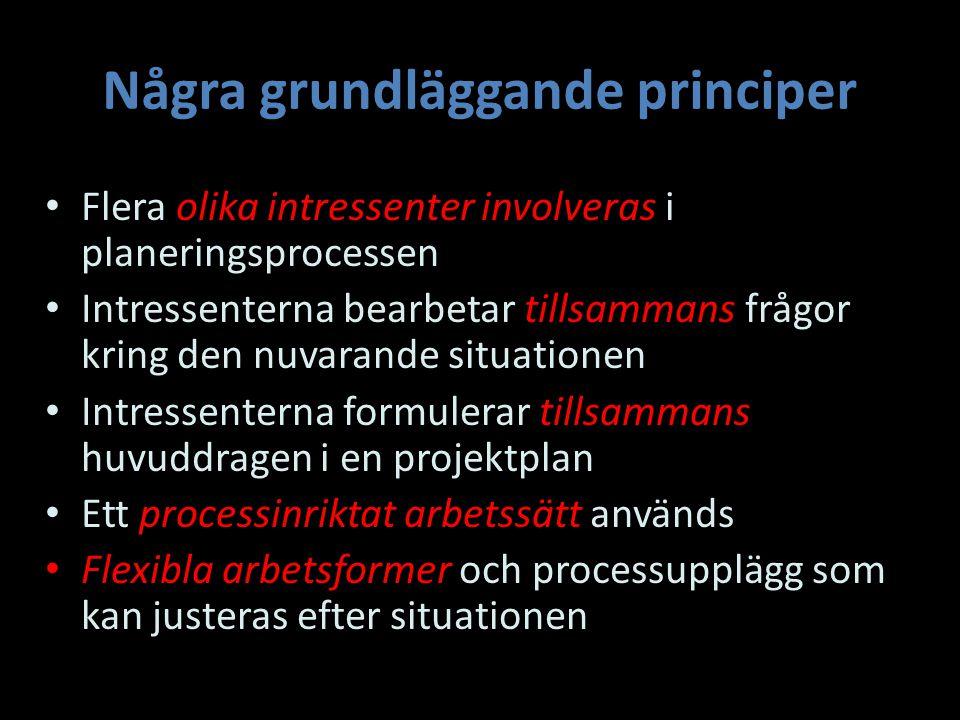 Några grundläggande principer