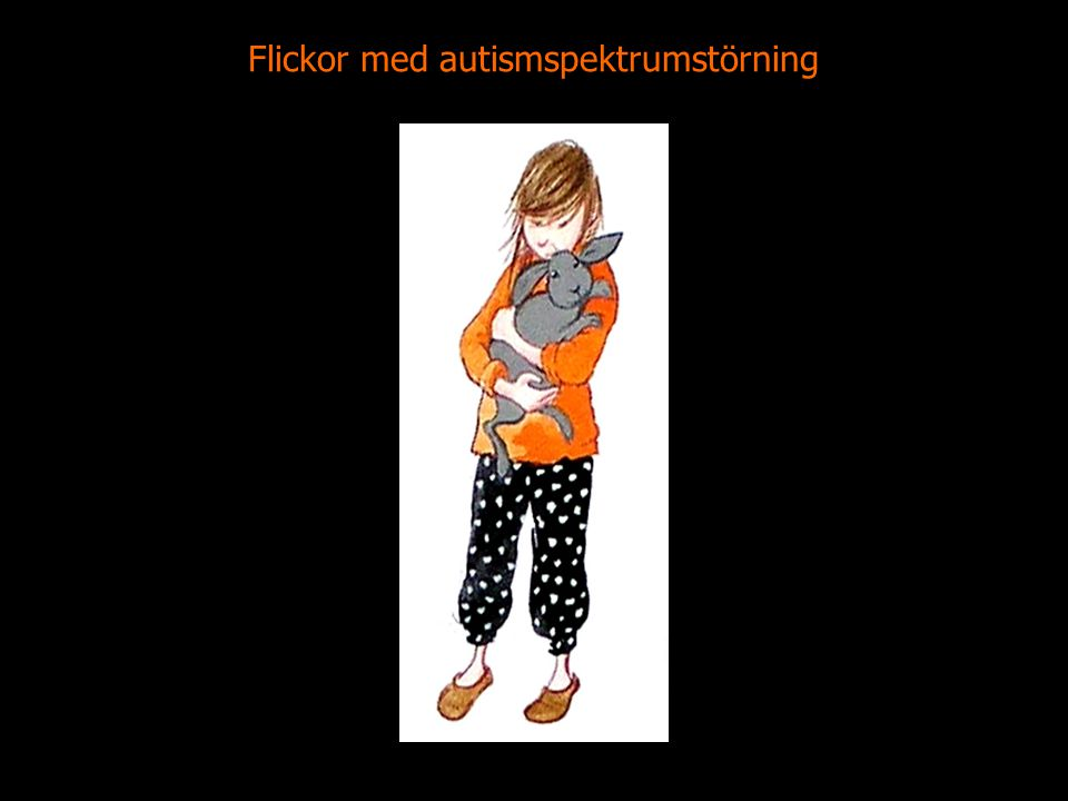 Flickor med autismspektrumstörning