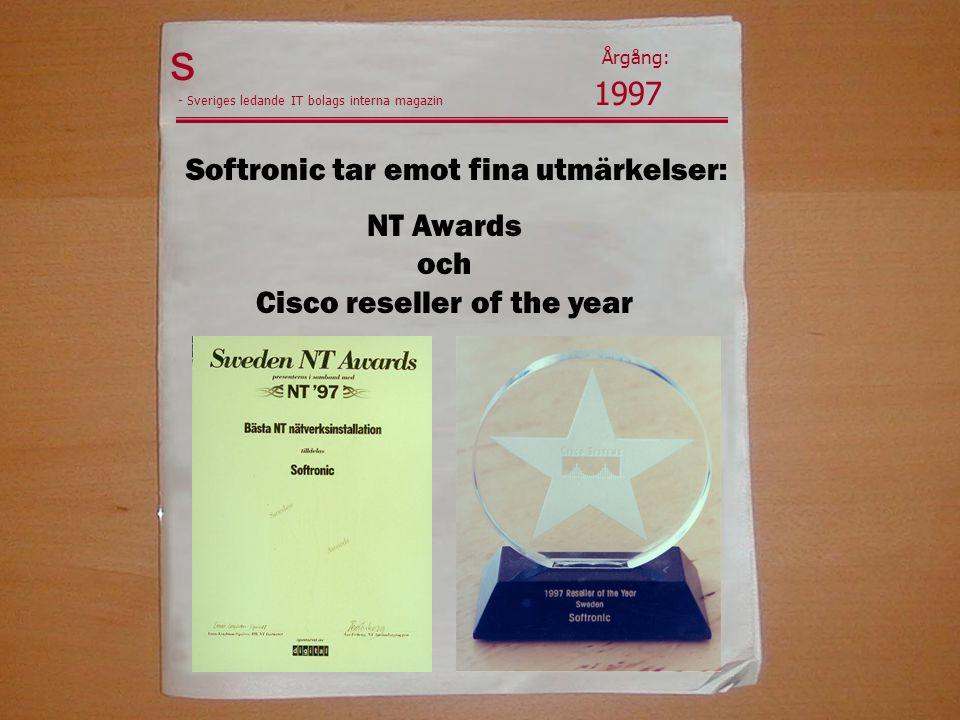 Softronic tar emot fina utmärkelser: