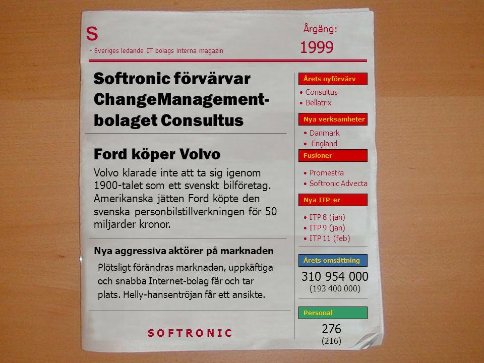 Softronic förvärvar ChangeManagement-bolaget Consultus