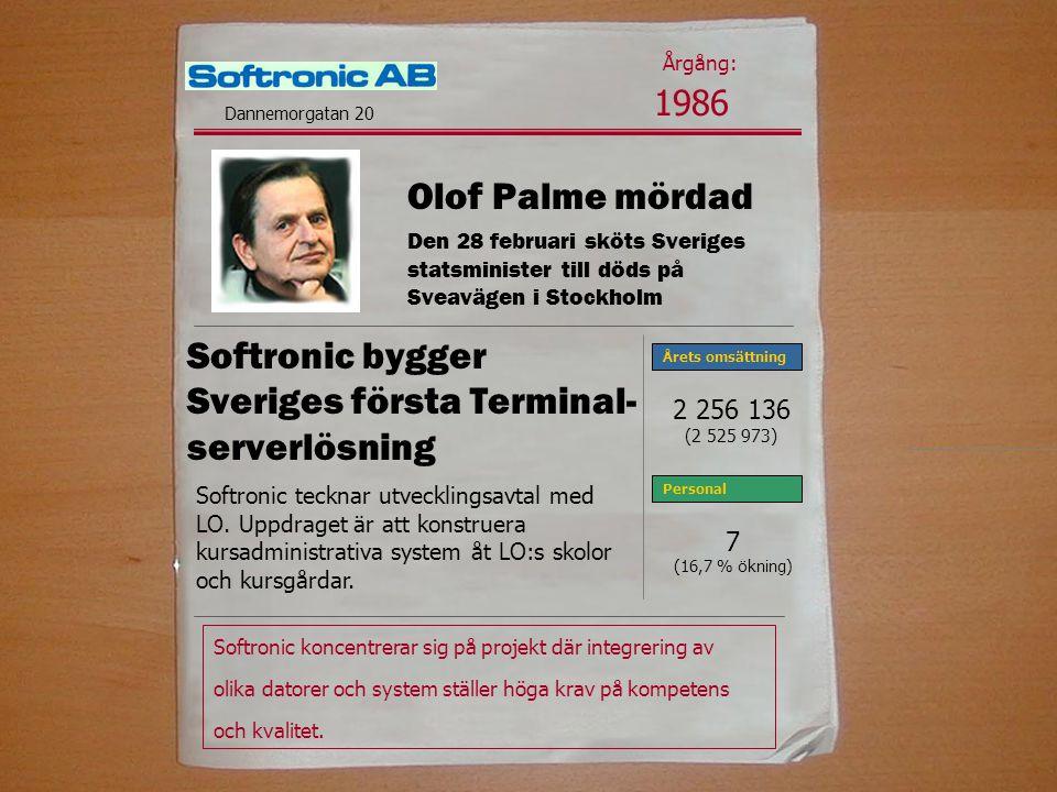 Softronic bygger Sveriges första Terminal- serverlösning