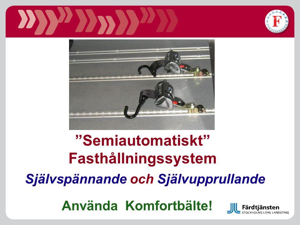 Semiautomatiskt Fasthållningssystem