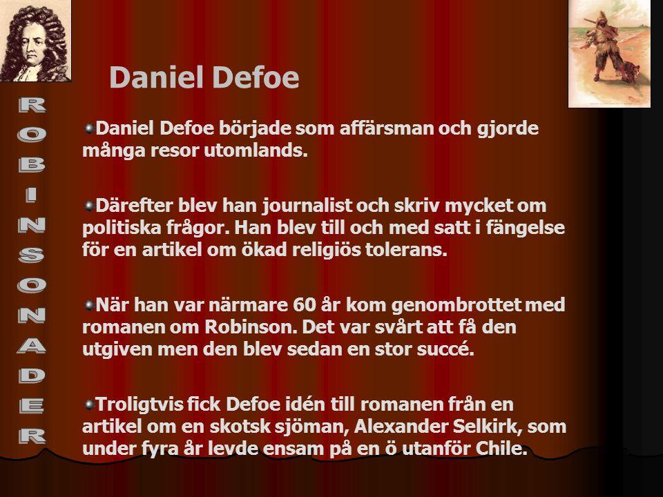 ROBINSONADER Daniel Defoe