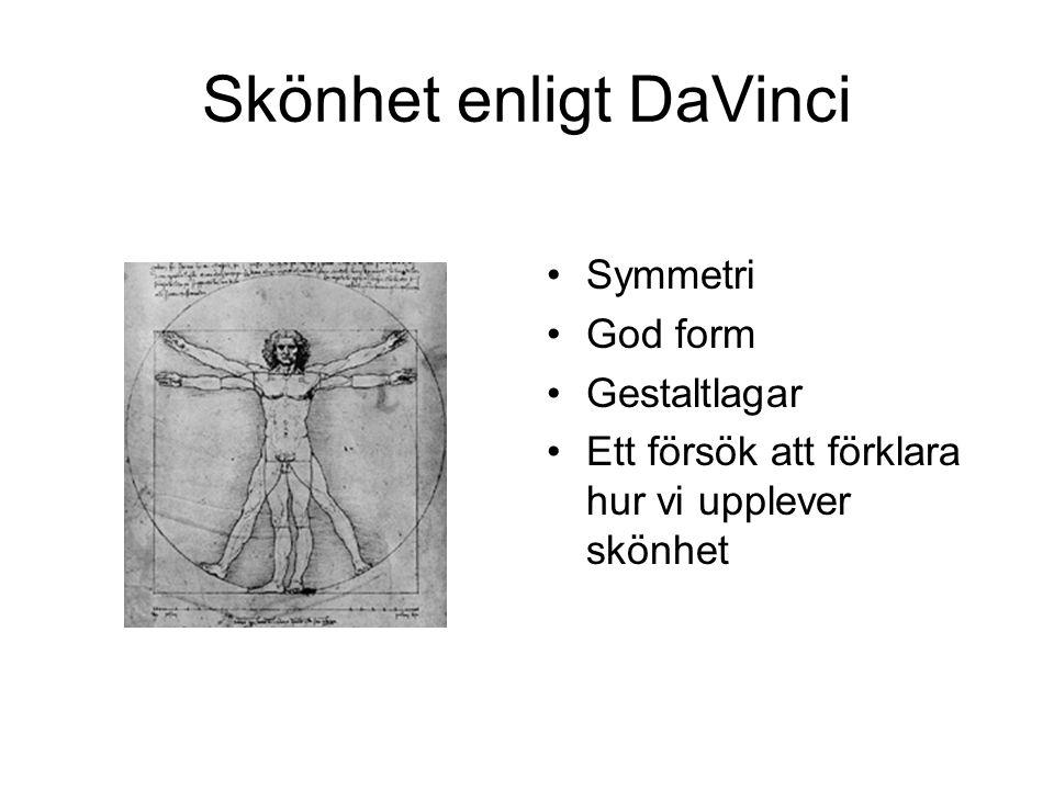 Skönhet enligt DaVinci