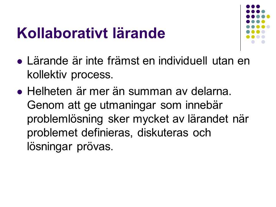 Kollaborativt lärande