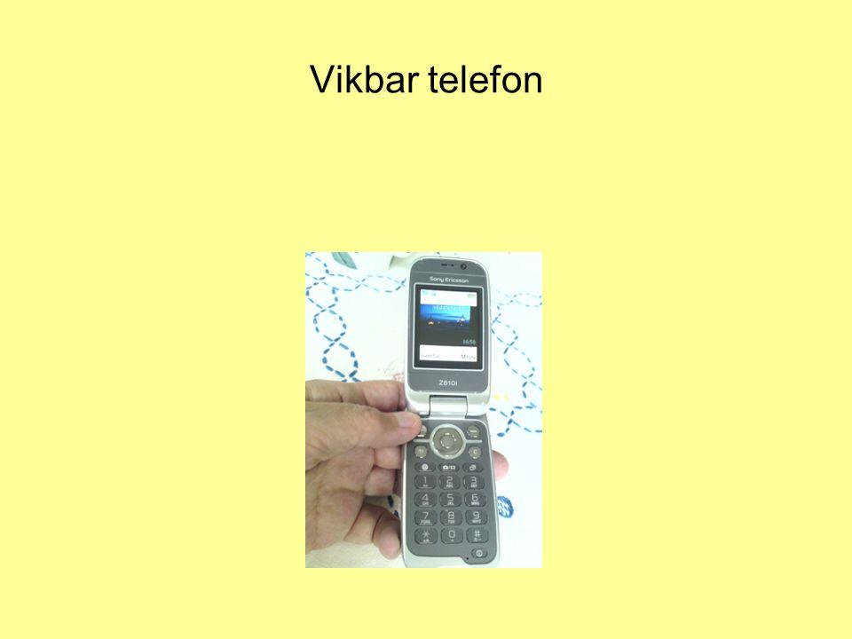 Vikbar telefon