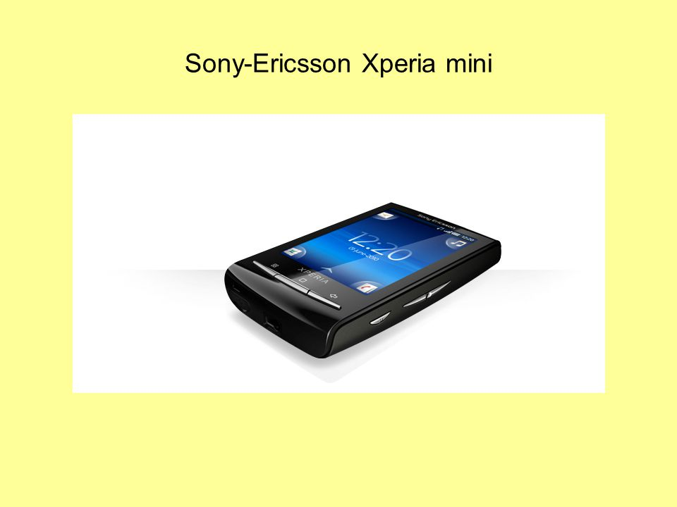 Sony-Ericsson Xperia mini