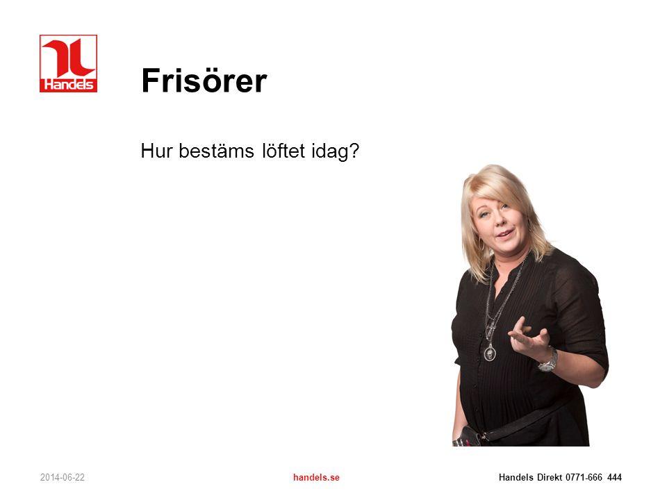 Frisörer Hur bestäms löftet idag 2017-04-03