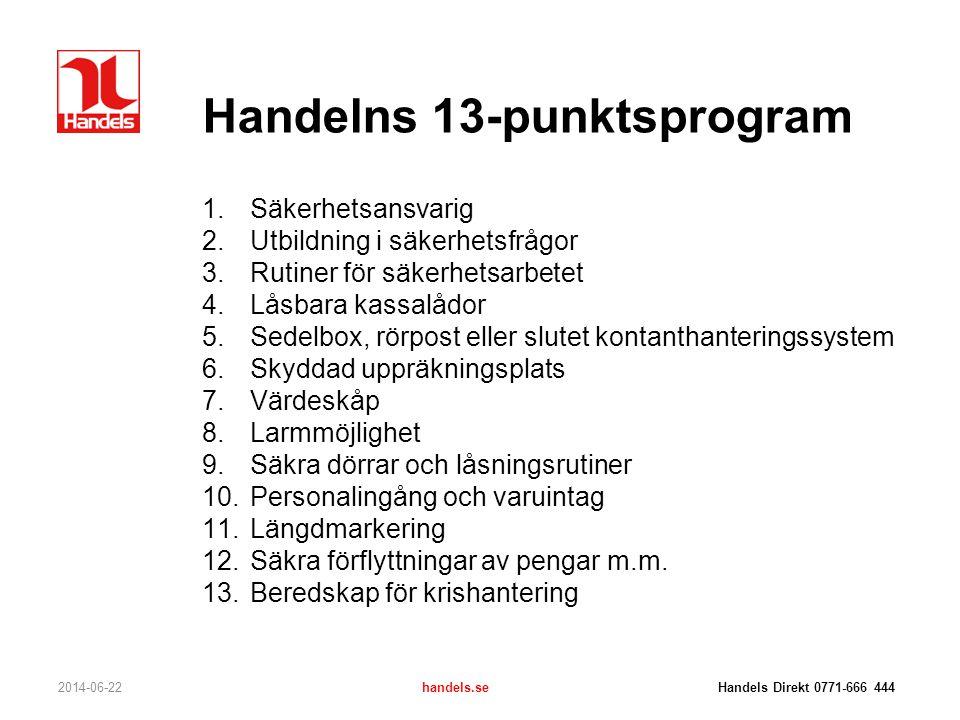 Handelns 13-punktsprogram