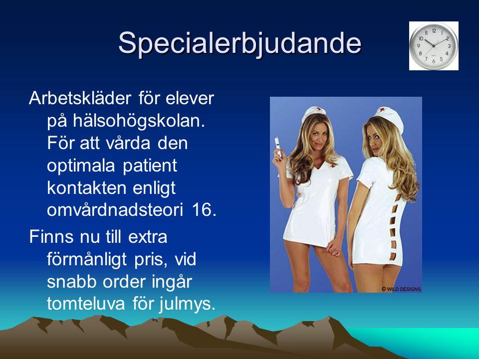 Specialerbjudande Arbetskläder för elever på hälsohögskolan. För att vårda den optimala patient kontakten enligt omvårdnadsteori 16.