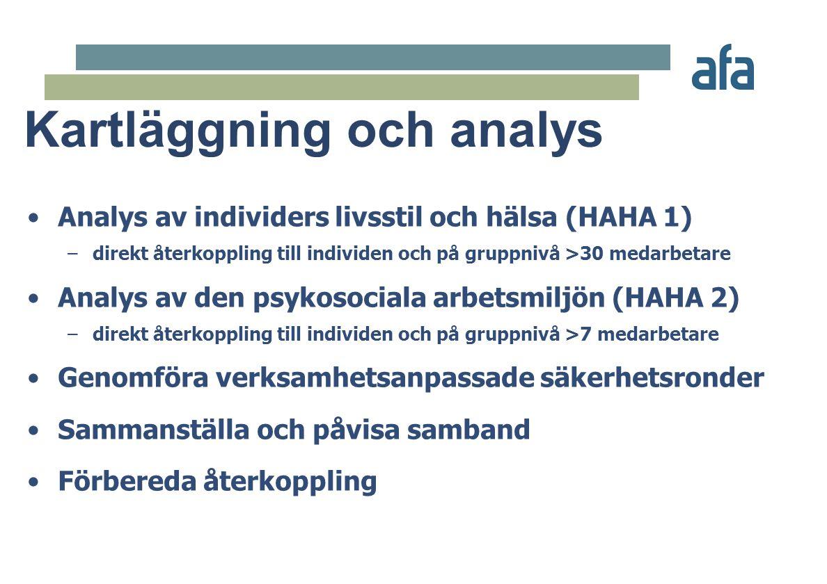 Kartläggning och analys