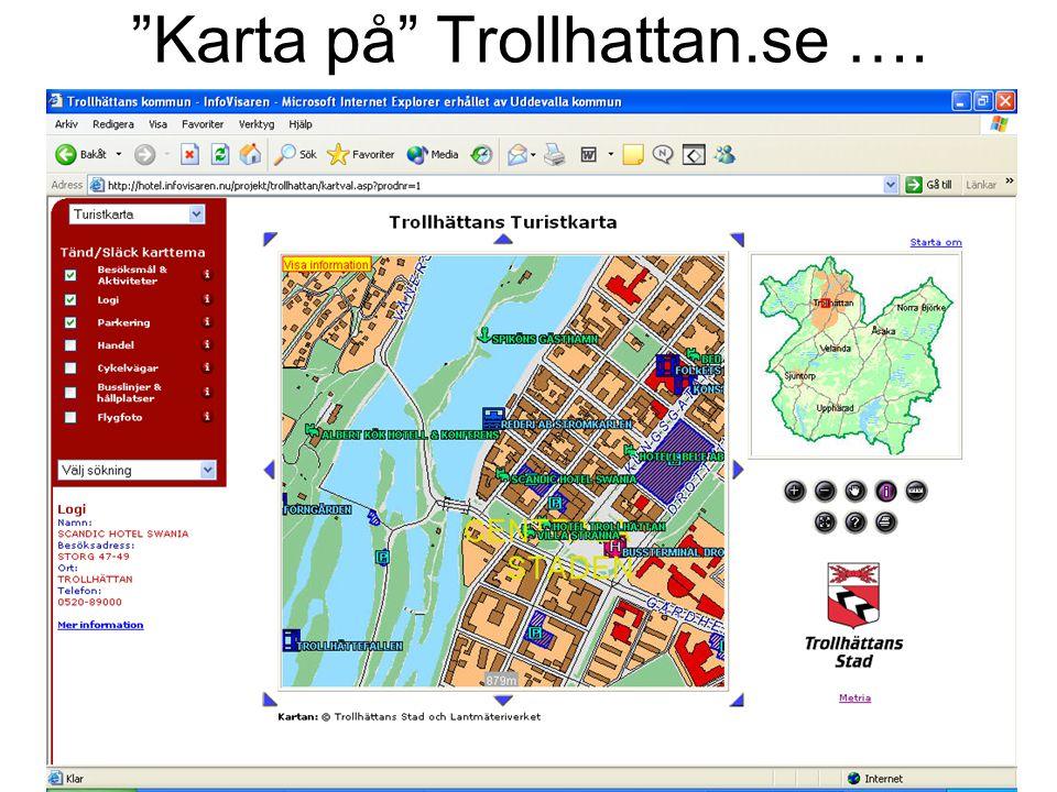Karta på Trollhattan.se ….