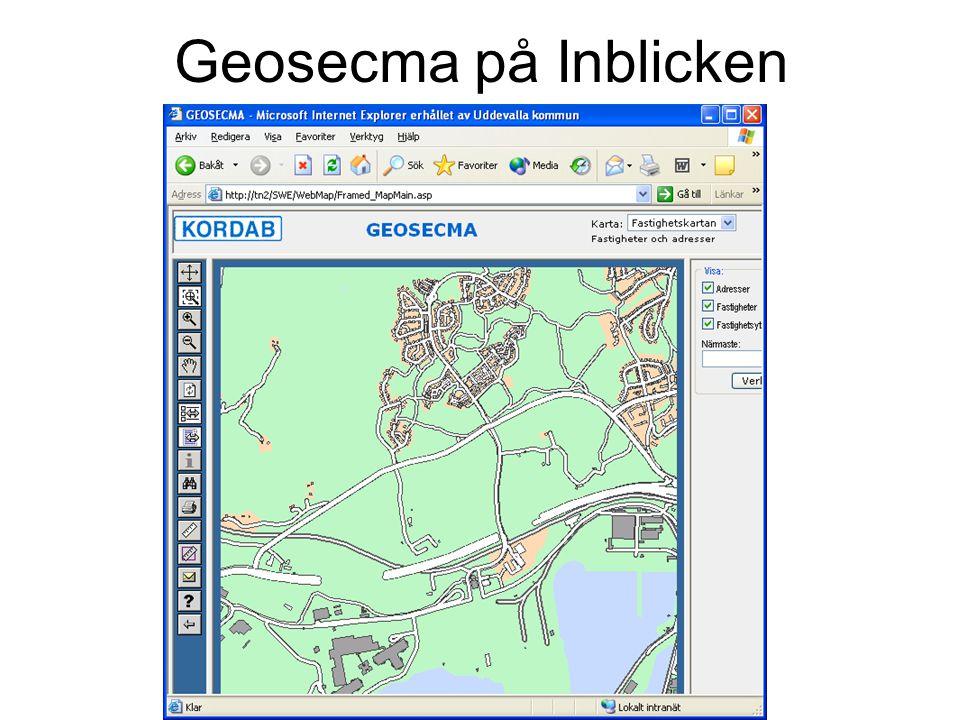 Geosecma på Inblicken